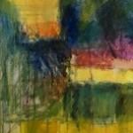 Jon Rowland, Dawn, Original Painting, Contemporary Abstract Art