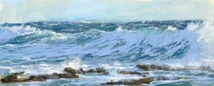 Reef Breakers is a limited edition giclee print by James Bartholomew.