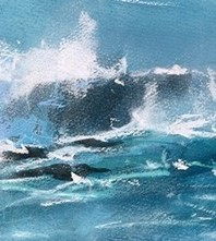 Westerly Squall is a limited edition giclee print by James Bartholomew.