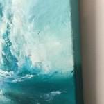 Alison Johnson, The Break, Original Painting, Abstract Art 5