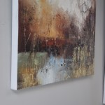 Claire Wiltsher, Ethereal Light 2, Abstract Landscape Art 4