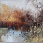 Claire Wiltsher, Ethereal Light 2, Abstract Landscape Art11
