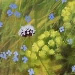 Dylan Lloyd, Island Garden Border V, Original Landscape Painting, Nature Art 2