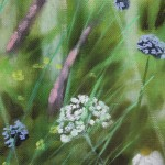 Dylan Lloyd, Island Garden Border VI, Original Landscape Painting, Nature Art 3