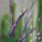 Dylan Lloyd, Island Garden Border VI, Original Landscape Painting, Nature Art 5