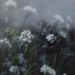 Dylan Lloyd, Island Garden Border VII, Original Landscape Painting, Nature Ar