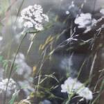 Dylan Lloyd, Island Garden Border VII, Original Landscape Painting, Nature Art 3