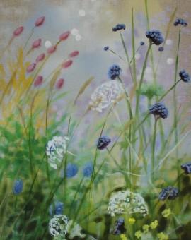 Dylan Lloyd, Island Garden Border VIII, Original Landscape Painting, Nature Ar 8