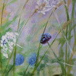 Dylan Lloyd, Island Garden Border VIII, Original Landscape Painting, Nature Art 3