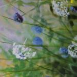 Dylan Lloyd, Island Garden Border VIII, Original Landscape Painting, Nature Art 6