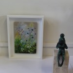 Dylan Lloyd, Island Garden Border VIII, Original Landscape Painting, Nature Art 7