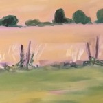 Eleanor Woolley | Across the fields from Aynho | Affordable Art Online | Landscape | Impressionistic | Section 2
