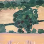 Eleanor Woolley | Across the fields from Aynho | Affordable Art Online | Landscape | Impressionistic | Section 3