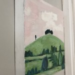 Eleanor Woolley, The Copse 2, Original Oil Landscape Painting 10