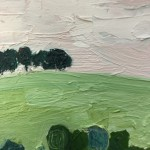 Eleanor Woolley, The Copse 2, Original Oil Landscape Painting 7