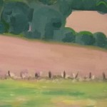 Eleanor Woolley | The view from Aynho | Affordable Art Online | Landscape | Impressionistic | Section 1