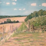 Eleanor Woolley | Walking out from Anho | Affordable Art Online | Landscape | Impressionistic