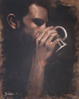 Hannah Delightful Wheeler. Tea Series #1, Wychwood Art (1)