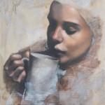 Hannah Delightful Wheeler. Tea Series #6, Wychwood Art (1)