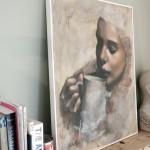 Hannah Delightful Wheeler. Tea Series #6, Wychwood Art (2)