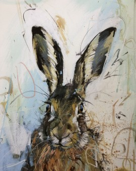 James Bartholomew, Brown Hare 1, Limited Edition Giclee Print, Animal Art 11
