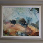 Jemma Powell, Autumn in Great Tew, Original Landscape Oil Painting, Oxfordshire Art, Soho Farmhouse Oil Painting 3
