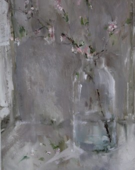 Jemma Powell, Blossom II, Original Oil Painting, Still Life Art 2