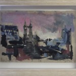 Jemma Powell, Manchester at Night, Original Painting, Cityscape Art 2
