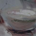Jemma Powell, Peonies in Stripey Joy, Original Flower Painting 7