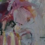 Jemma Powell, Peonies in Stripey Joy, Original Flower Painting 8