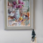 Jemma Powell, Pink Peonies, Original Still Life Painting