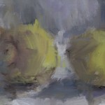 Jemma Powell, Three Lemons, Original Oil Painting for Sale 2 8