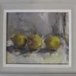 Jemma Powell, Three Lemons, Original Oil Painting for Sale 3