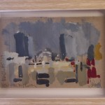Jemma Powell, View From My Room, Original Painting, Cityscape Art, Art of Manchester