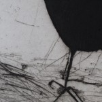 Kate Boxer, Jackdaw, Limited Edition Drypoint Print, Animal Art 3