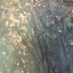Mariusz Kaldowski, Enchanted Forest in Blue, Original Acrylic Landscape Painting 6