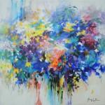 Mary Chaplin september floral Wychwood Art