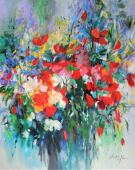 Mary Chaplin the wild flowers you brought me Wychwood Art