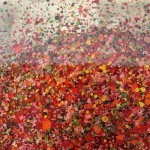 Nicky Chubb, A Tumble of Scarlet Leaves, Original Painting, Tree Art, Nature Art .JPG 4