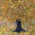 Nicky Chubb, Happiness, Original Painting, Tree Art, Nature Art .JPG 2
