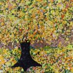 Nicky Chubb, Happy Dance, Original Painting, Tree Art, Nature Art 2