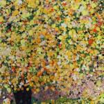 Nicky Chubb, Happy Dance, Original Painting, Tree Art, Nature Art 5