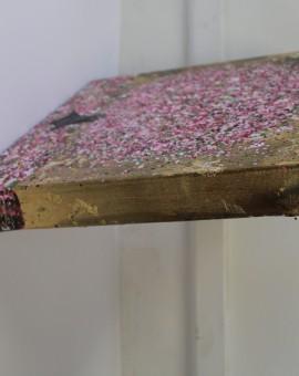 Nicky Chubb, Happy Pink Blossom, Original Painting, Tree Art, Nature Art 6