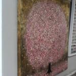 Nicky Chubb, Spring Evening Light, Tree Art, Nature Art 3