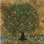 Nicky-Chubb-Sunny-Summer-Days-Original-Painting-Tree-Art-Nature-Art