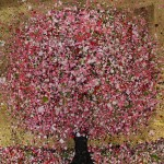 Nicky Chubb,Blossoming Magic, Original Painting, Tree Art, Nature Art
