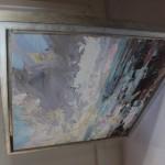 Paul Treasure, Golden Tide, Original Seascape Painting, Contemporary Art 10