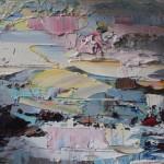 Paul Treasure, Golden Tide, Original Seascape Painting, Contemporary Art 5