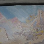 Paul Treasure, Golden Tide, Original Seascape Painting, Contemporary Art 6