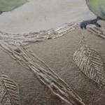 Sally Ann Johns, Blue Tits in Black Frame, Original Artwork 3